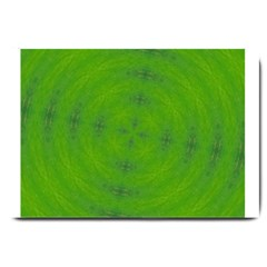 Go Green Kaleidoscope Large Door Mat
