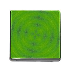 Go Green Kaleidoscope Memory Card Reader With Storage (square)