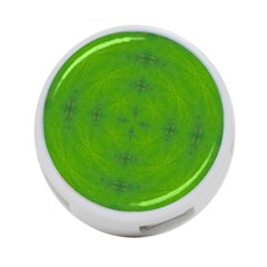Go Green Kaleidoscope 4-Port USB Hub (One Side)