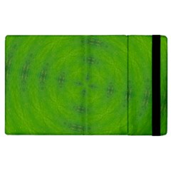 Go Green Kaleidoscope Apple iPad 2 Flip Case