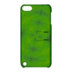 Go Green Kaleidoscope Apple Ipod Touch 5 Hardshell Case With Stand