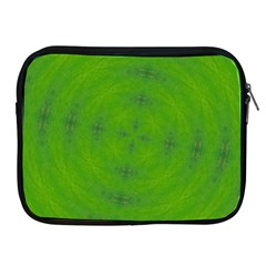 Go Green Kaleidoscope Apple iPad Zippered Sleeve