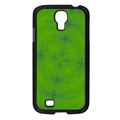 Go Green Kaleidoscope Samsung Galaxy S4 I9500/ I9505 Case (Black)