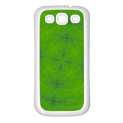 Go Green Kaleidoscope Samsung Galaxy S3 Back Case (white)