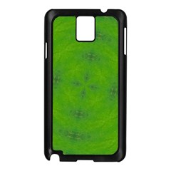 Go Green Kaleidoscope Samsung Galaxy Note 3 N9005 Case (Black)