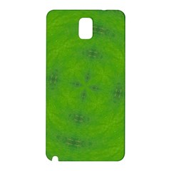 Go Green Kaleidoscope Samsung Galaxy Note 3 N9005 Hardshell Back Case