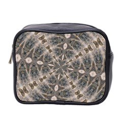 Flowing Waters Kaleidoscope Mini Travel Toiletry Bag (Two Sides)