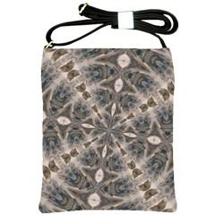 Flowing Waters Kaleidoscope Shoulder Sling Bag