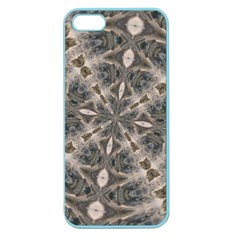 Flowing Waters Kaleidoscope Apple Seamless Iphone 5 Case (color)