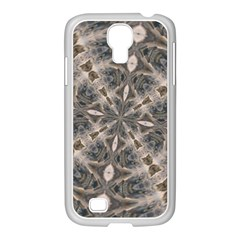 Flowing Waters Kaleidoscope Samsung GALAXY S4 I9500/ I9505 Case (White)
