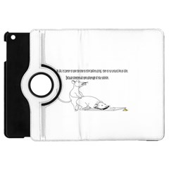 Better To Take Time To Think Apple iPad Mini Flip 360 Case