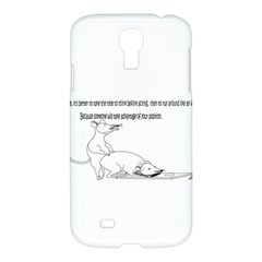 Better To Take Time To Think Samsung Galaxy S4 I9500/i9505 Hardshell Case