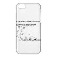 Better To Take Time To Think Apple iPhone 5C Hardshell Case