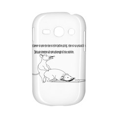 Better To Take Time To Think Samsung Galaxy S6810 Hardshell Case