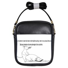 Better To Take Time To Think Girl s Sling Bag