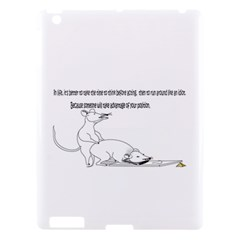 Better To Take Time To Think Apple Ipad 3/4 Hardshell Case