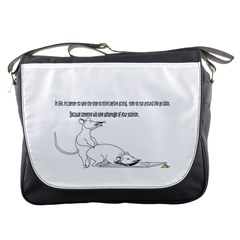 Better To Take Time To Think Messenger Bag