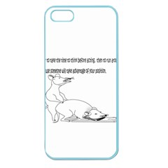 Better To Take Time To Think Apple Seamless Iphone 5 Case (color)