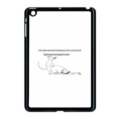 Better To Take Time To Think Apple Ipad Mini Case (black)