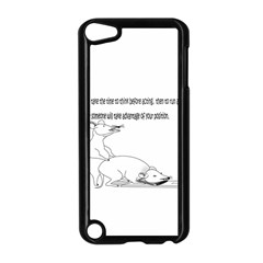 Better To Take Time To Think Apple iPod Touch 5 Case (Black)