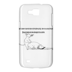 Better To Take Time To Think Samsung Galaxy Premier I9260 Hardshell Case