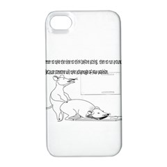 Better To Take Time To Think Apple iPhone 4/4S Hardshell Case with Stand