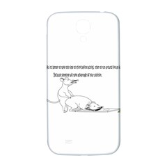 Better To Take Time To Think Samsung Galaxy S4 I9500/I9505  Hardshell Back Case