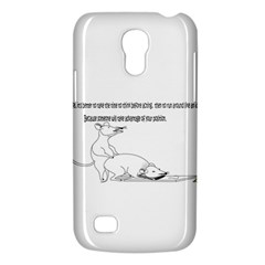 Better To Take Time To Think Samsung Galaxy S4 Mini (GT-I9190) Hardshell Case