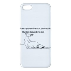 Better To Take Time To Think iPhone 5S Premium Hardshell Case