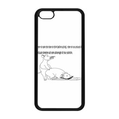 Better To Take Time To Think Apple iPhone 5C Seamless Case (Black)
