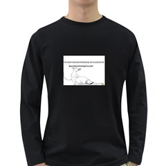 Better To Take Time To Think Men s Long Sleeve T Shirt (dark Colored)