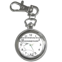 Better To Take Time To Think Key Chain Watch
