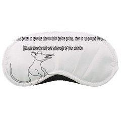Better To Take Time To Think Sleeping Mask
