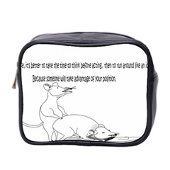 Better To Take Time To Think Mini Travel Toiletry Bag (Two Sides)