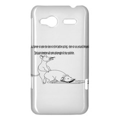 Better To Take Time To Think HTC Radar Hardshell Case