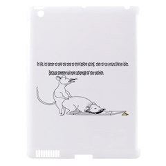 Better To Take Time To Think Apple Ipad 3/4 Hardshell Case (compatible With Smart Cover)