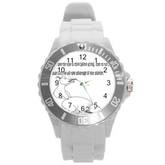 Better To Take Time To Think Plastic Sport Watch (Large)