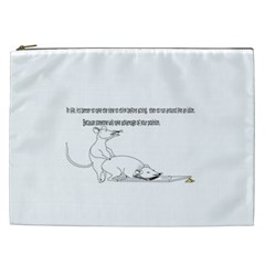 Better To Take Time To Think Cosmetic Bag (XXL)