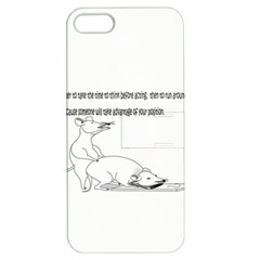 Better To Take Time To Think Apple Iphone 5 Hardshell Case With Stand