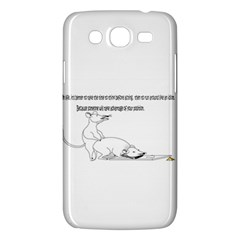 Better To Take Time To Think Samsung Galaxy Mega 5.8 I9152 Hardshell Case