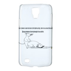 Better To Take Time To Think Samsung Galaxy S4 Active (I9295) Hardshell Case