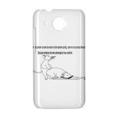 Better To Take Time To Think HTC Desire 601 Hardshell Case