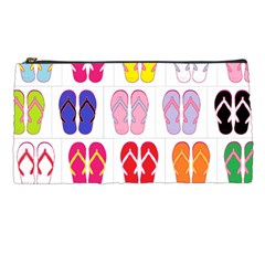 Flip Flop Collage Pencil Case