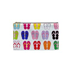 Flip Flop Collage Cosmetic Bag (Small)