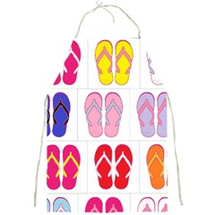 Flip Flop Collage Apron