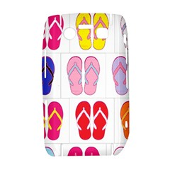 Flip Flop Collage BlackBerry Bold 9700 Hardshell Case