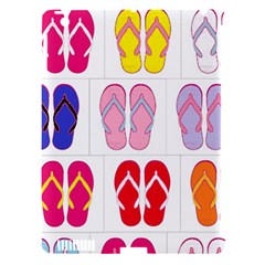 Flip Flop Collage Apple iPad 3/4 Hardshell Case (Compatible with Smart Cover)