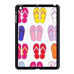 Flip Flop Collage Apple iPad Mini Case (Black)