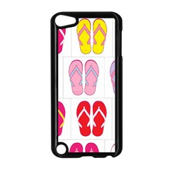 Flip Flop Collage Apple Ipod Touch 5 Case (black)