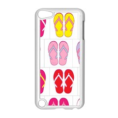 Flip Flop Collage Apple Ipod Touch 5 Case (white)